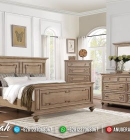 Kamar Kayu Jati Rustic Finishing BM-453