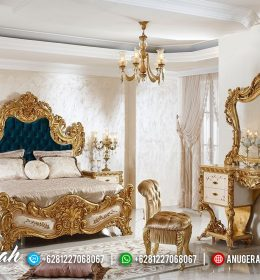 Best Quality Princes Bed Set Gold Leaf BM-544